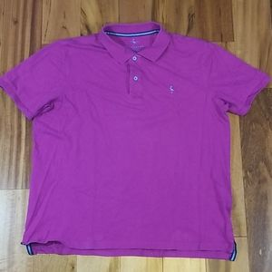 Tailorbyrd Pink Cotton Stretch Polo